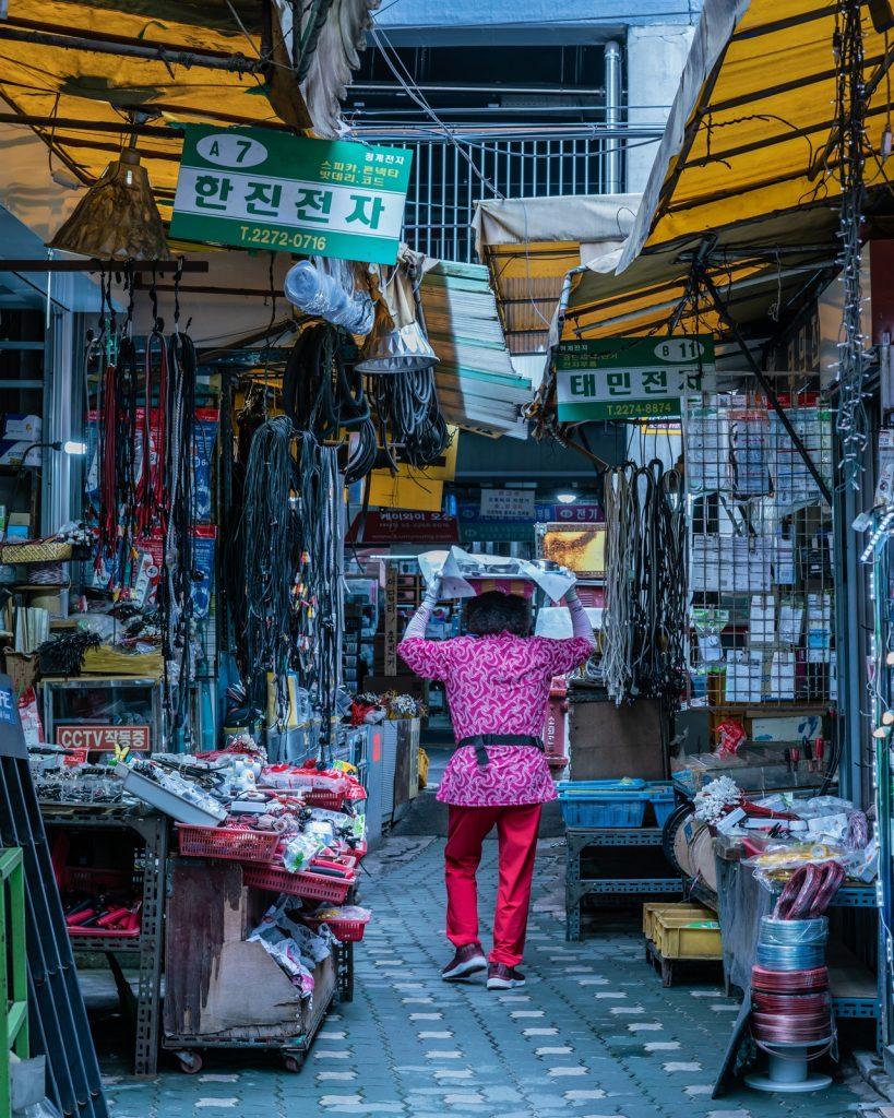 韓國的外送文化