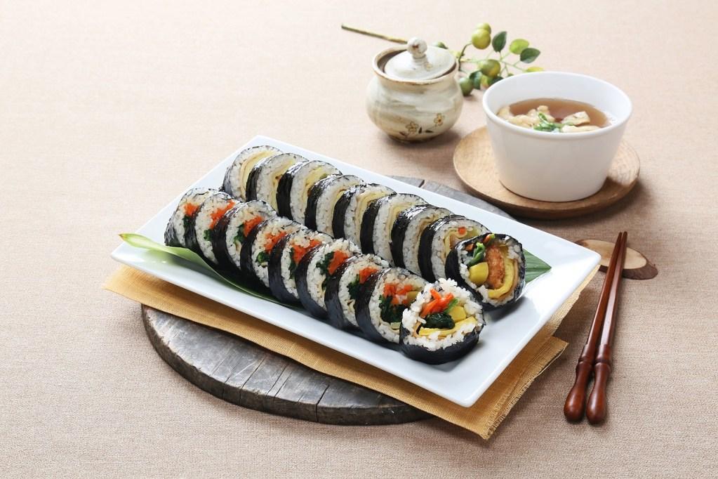 韓國料理-紫菜包飯