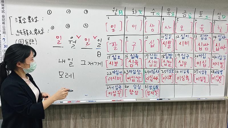 韓語四十音課程,奠定韓語學習基礎及發音標準重要性。