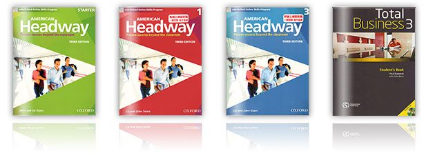 《American Headway》《Total Business 3》